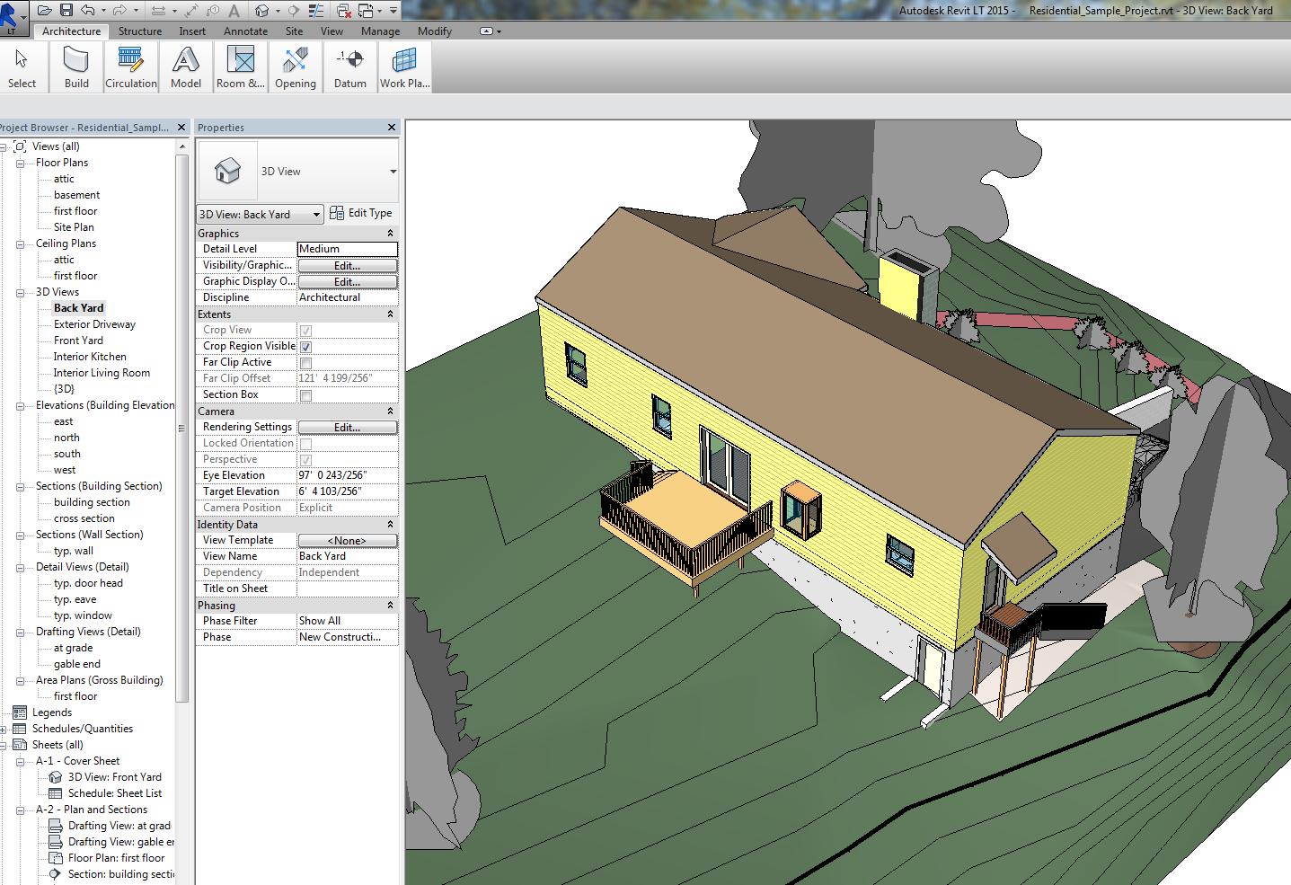 Eskiisprojektide koostamine 3D modelleerimine