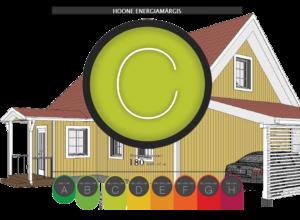 C klassi energiamärgis maja laiendusel