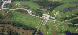 Golfikompleksi aerofoto