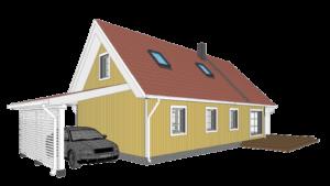 Väikeelamu ümberehituse ja laienduse projekt