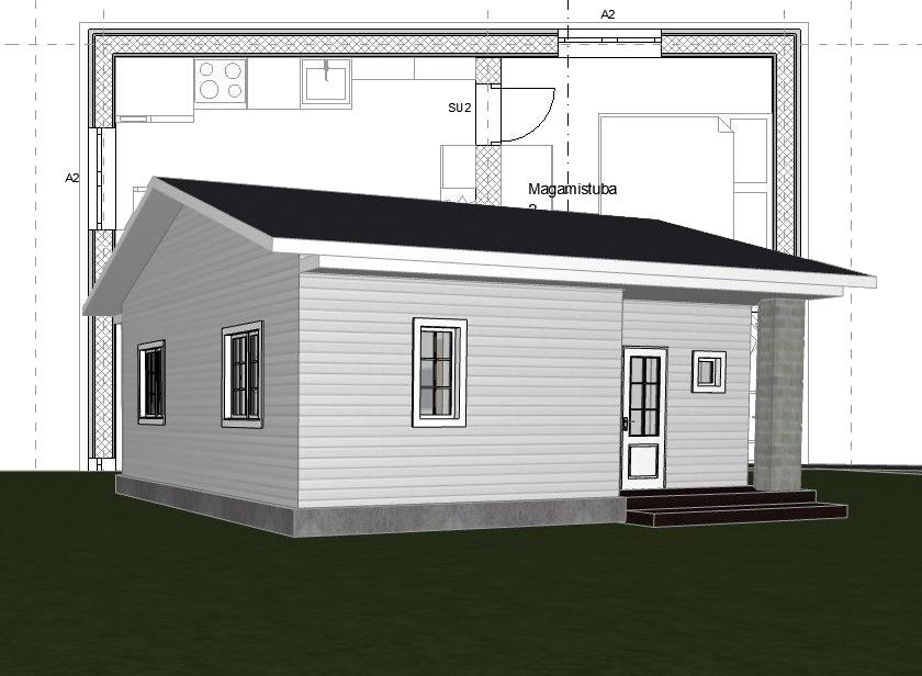 Väikeelamu projekteerimine Harkusse