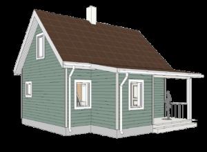 Minimalistlik elamu projekt 3D