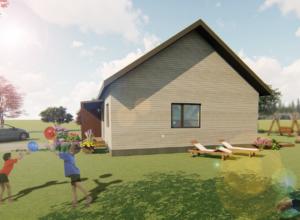 Fotorealistlik pilt majast 3D