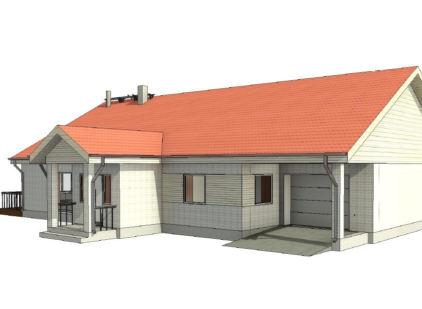 Männituka elamu projekteerimine