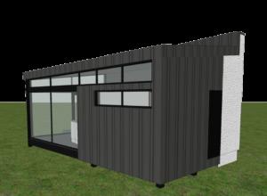 Pärnus sauna projekteerimine 3D