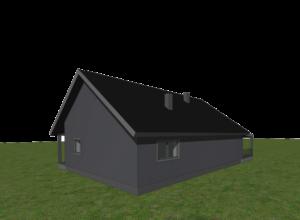 väikeelamu 3D mudel