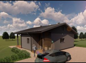 Fotorealistlik 3D mudel majast