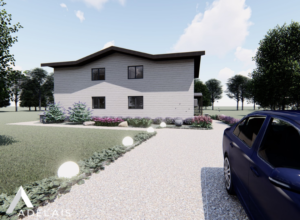 Suure ühepere elamu projekteerimine ja kooskõlastamine ehitusloa taotlusega.